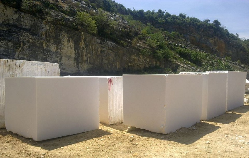 Mua White Marble Blocks