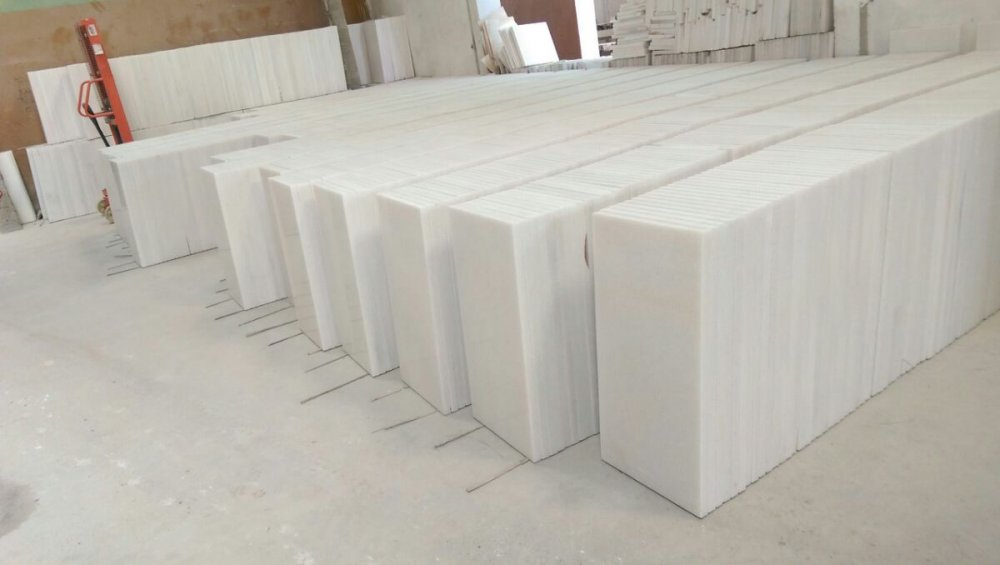Mua White marble slabs 40x80x3cm tiles