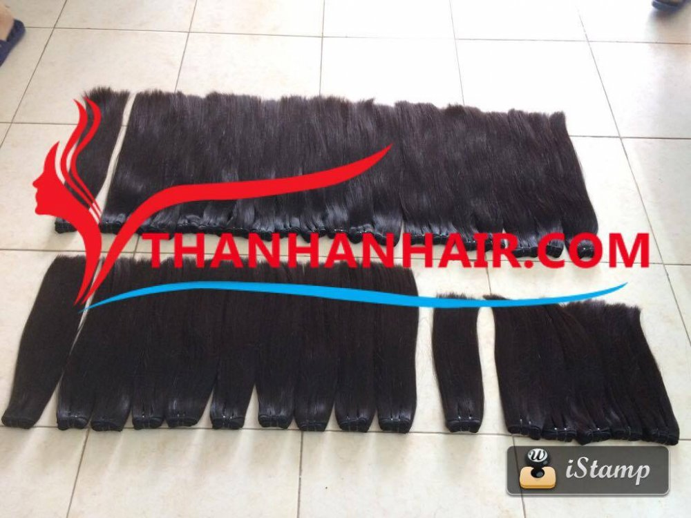 Buy High Quality Weft Hair Extension 100% Raw Hair