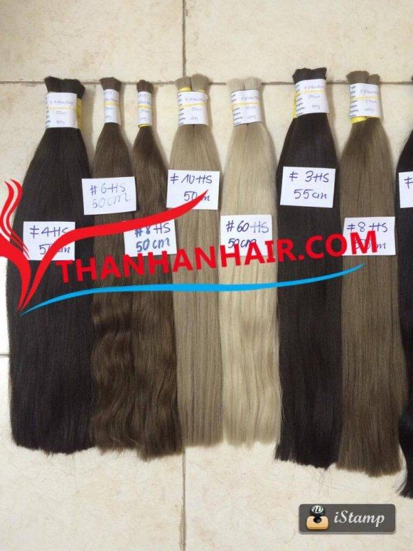 Mua Best price!!! High quality straight bulk hair Vietnamese hair