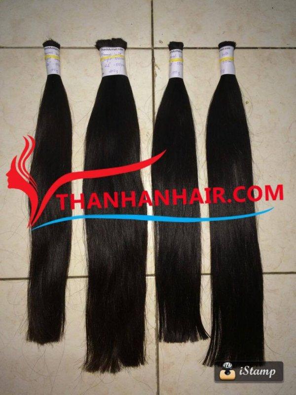 Mua Natural straight bulk hair 100% Vietnamese woman hair