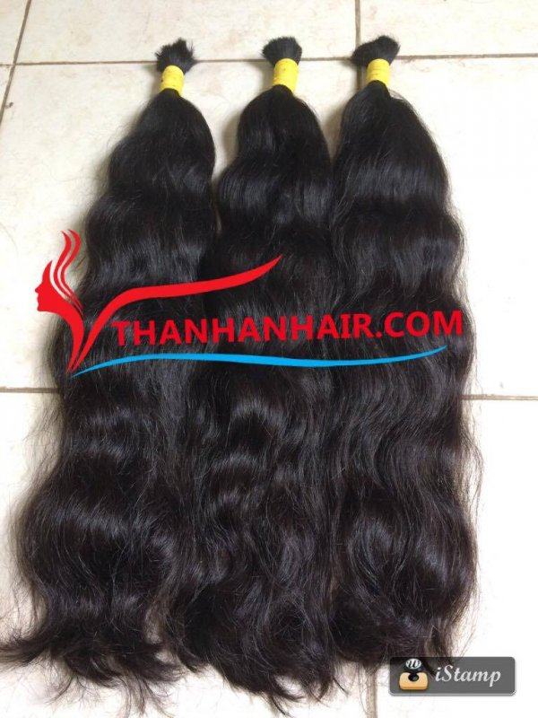 Mua Body wavy Vietnamese bulk hair in Vietnam for unprocessed virgin