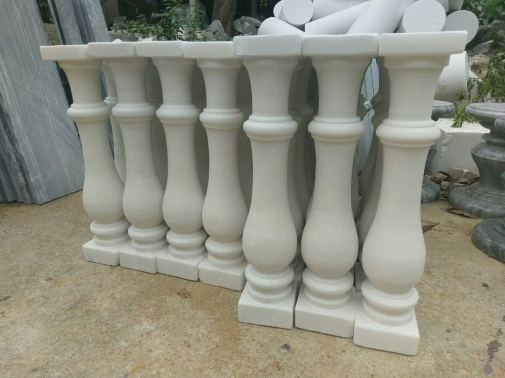 Mua White Marble Staircases