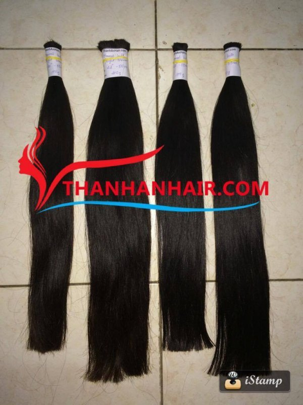 Mua  natural bulk in hair extensions for stylish hair