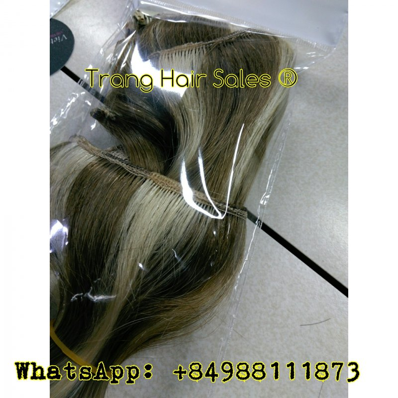 Mua Standard Double Drawn Remy Weft Hair No Tangles No Shedding Bulk Hair Wholesale Price Gold Supplier