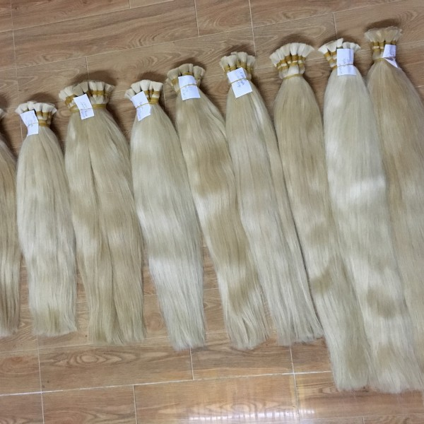 Mua Selling beautiful color hair soft #60, #613 human hair