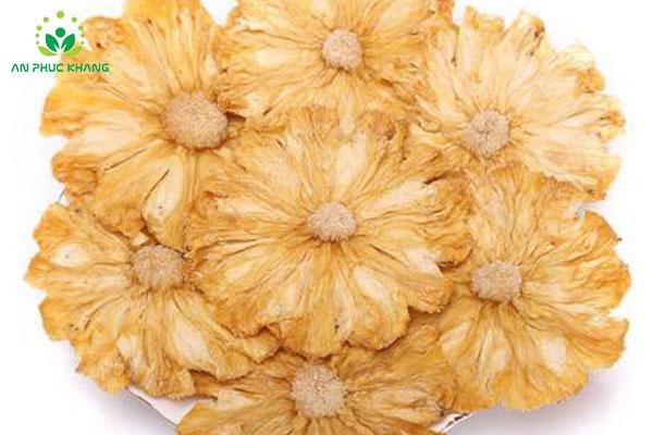 Mua Crispy Vacuum Fried Pineapple Slice Cut