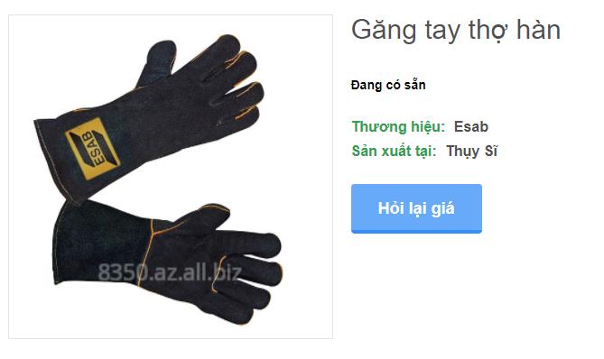 Mua Găng tay thợ hàn