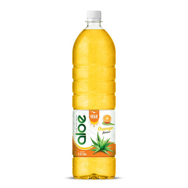 1, 5L sticla Aloe Vera bea Premium Orange aroma