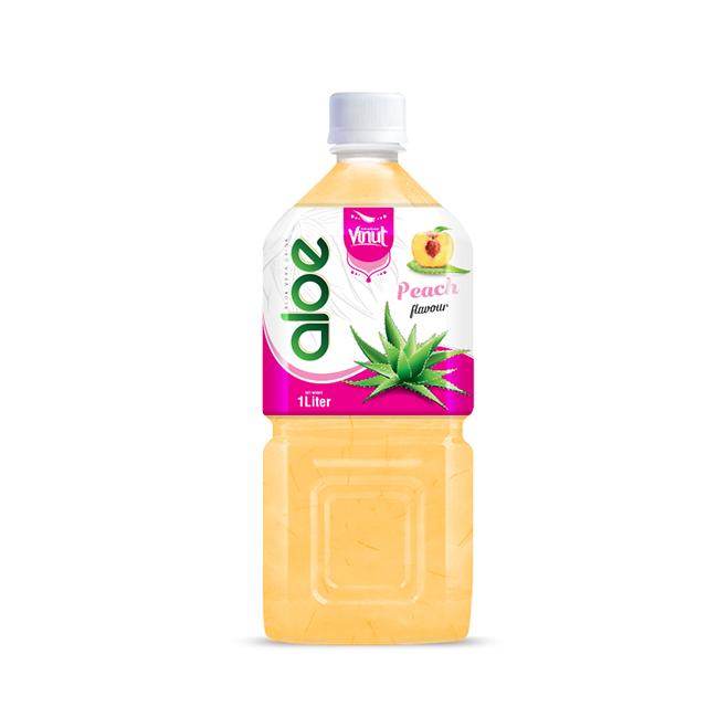 Купить Алоэ вера напиток бутылки 1л Премиум Персик вкус
