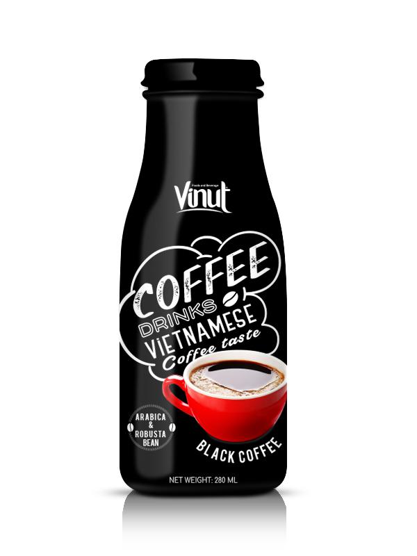 Buy Glass Bottle 280ml Black Coffee from Vietnam