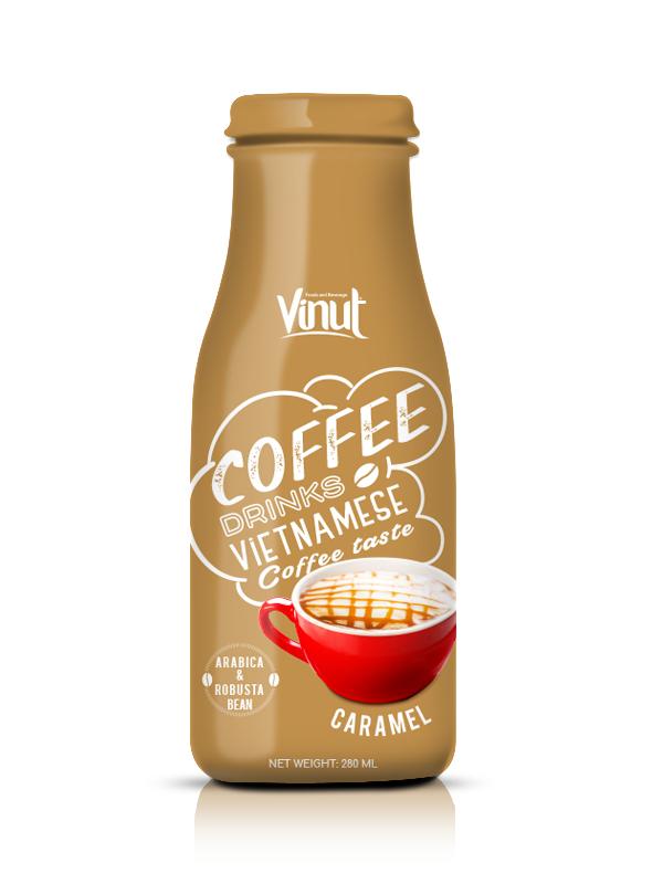 Купить Стеклянная бутылка 280мл карамельный кофе из Вьетнама
