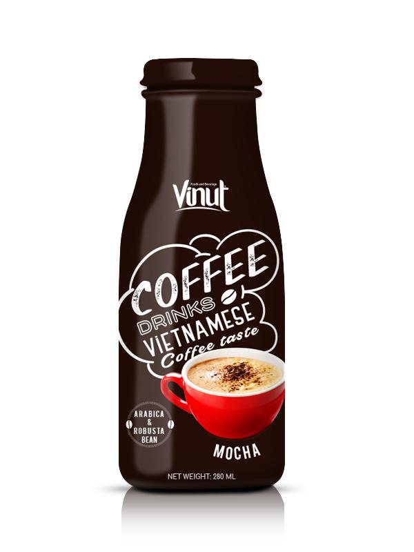 Купить Стеклянная бутылка 280мл мокко кофе из Вьетнама