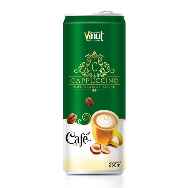 Buy Coffee cappuccino 250ml Tin Can