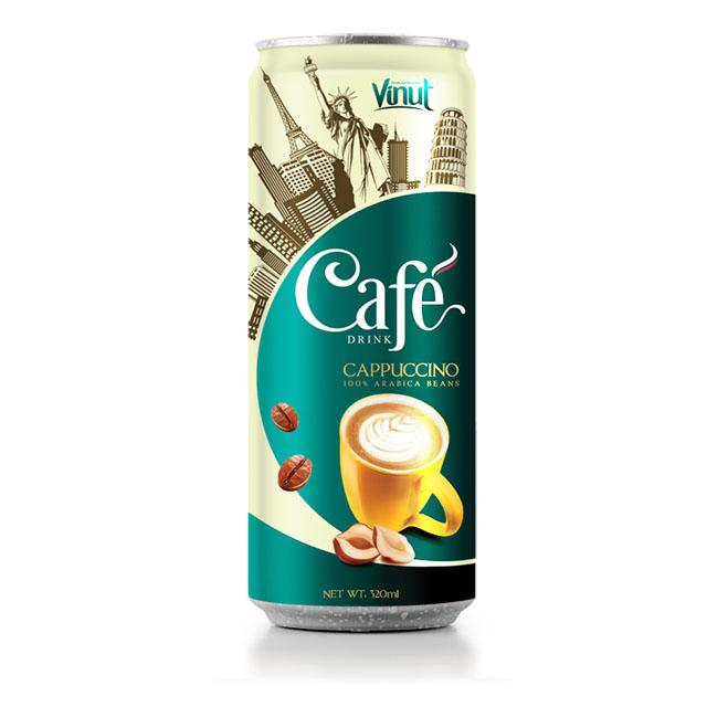 Купить Кофе со взбитыми сливками 320ml Tin Can
