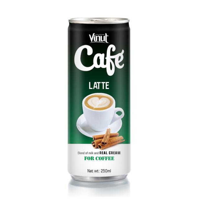 Buy Coffee Latte 250ml Tin Can