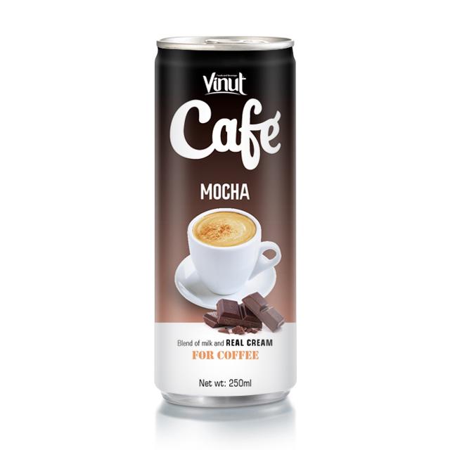 Buy Coffee mocha 250ml Tin Can