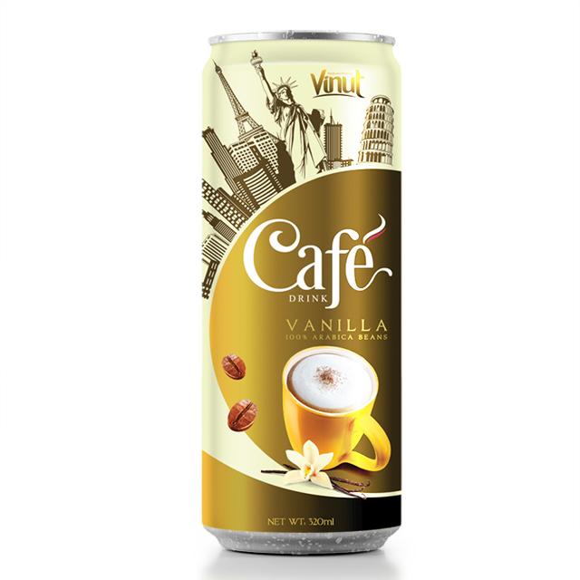 Купить Пить 320ml ваниль кофе Tin Can