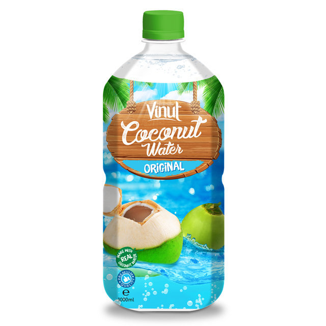 1L PET Bottle Original Sparkling Coconut Water