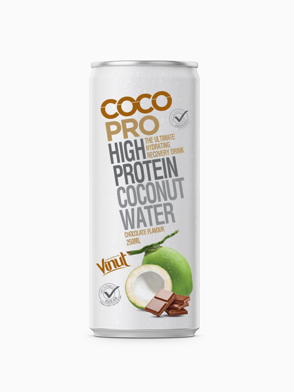 Консервы Кокосовый шоколад 250 мл воды со вкусом
