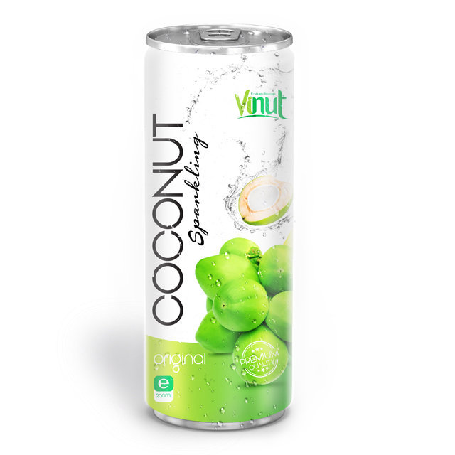 Купить 250ml Canned Premium Quality Coconut Sparkling Water Original