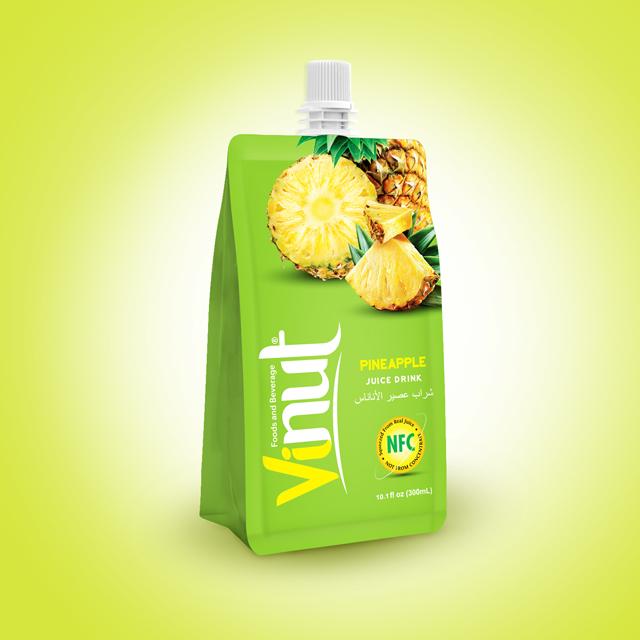 Vásárolni 10.1FL oz tasak 100 %-os ananász lé ital