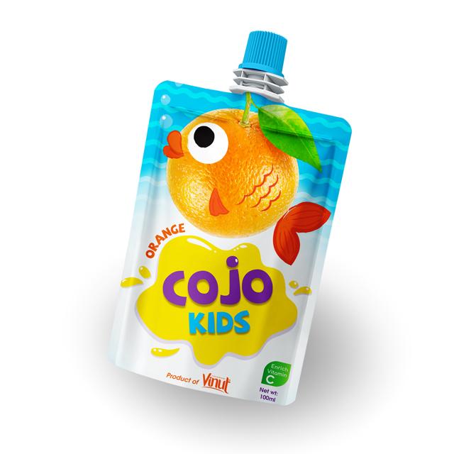 Vásárolni 100 ml-re Cojo gyerekek kártyatok Orange Juice ital