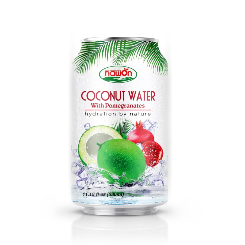 Buy 11:15 fl oz 100% Pure Coconut Water NAWON with Pomegranate