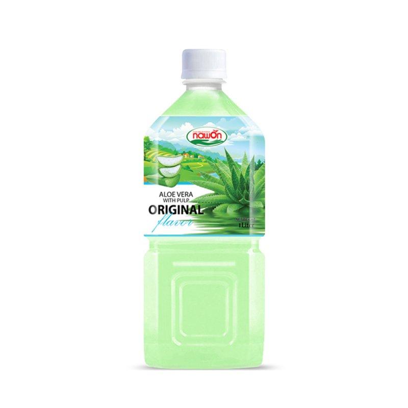 Buy Aloe Vera Juice 1L Original NAWON with pulp
