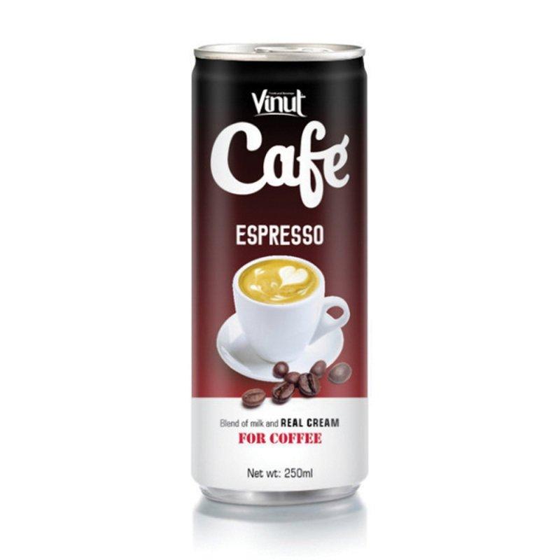 Купить Вьетнам Эспрессо кофейный напиток 250 мл консервированной VINUT