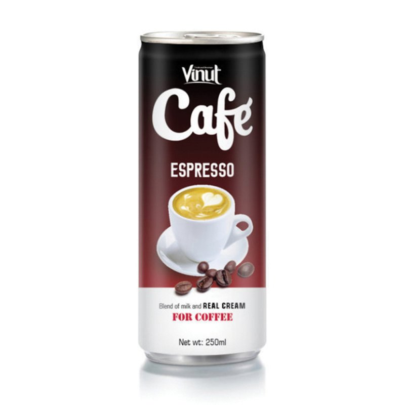 Mua Vietnam 250ml VINUT canned coffee Espresso drink