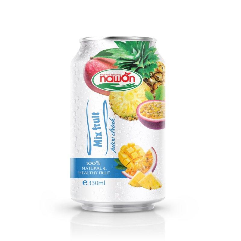 Buy Canned Juice Drink Mix 330ml NAWON