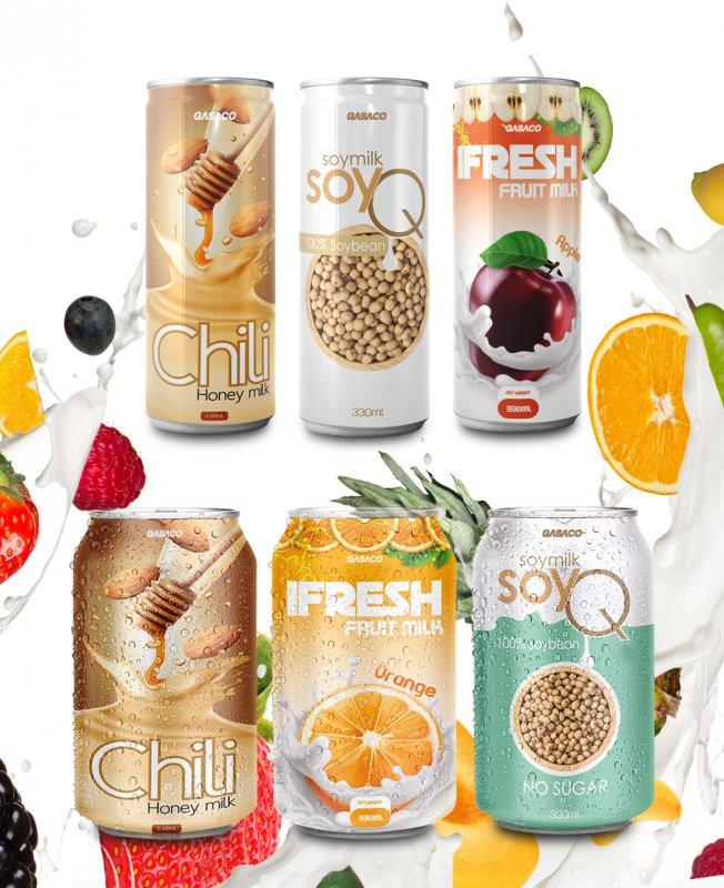 Mua Fruit mIlk Drinks