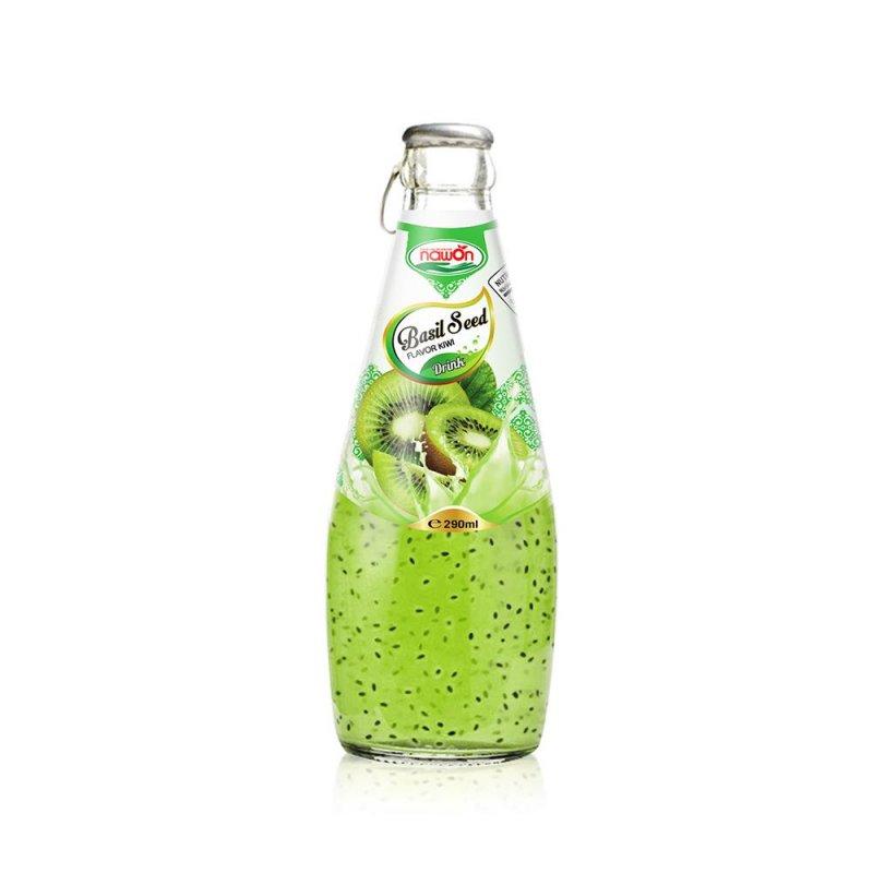 Mua 290ml basil seed drink with kiwi juice