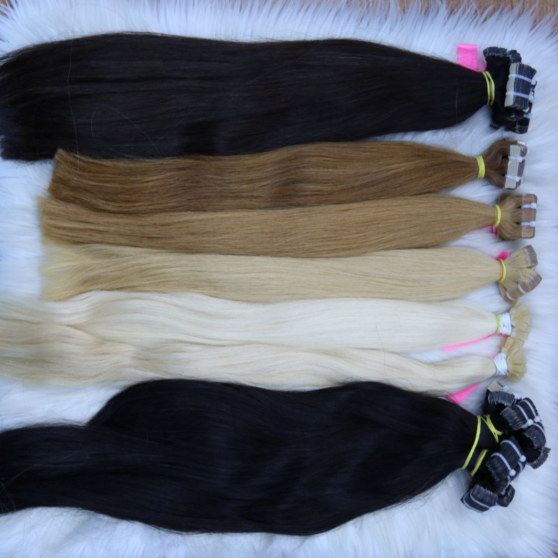 Buy Wholesale virgin remy hair extensions tape in human hair extensions