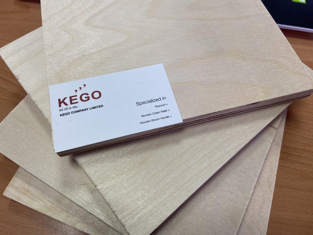 Mua 18mm Birch plywood birch plywood Carp P2 E0 standard made in Vietnam