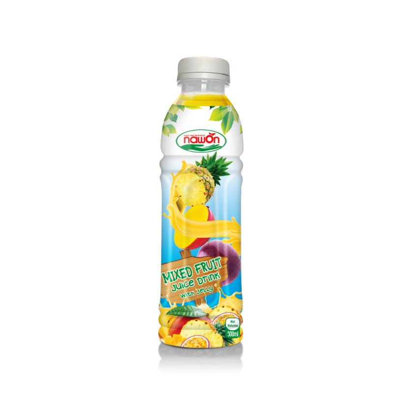 Mua 500ml Mixed Fruit Juice Drink With Jelly