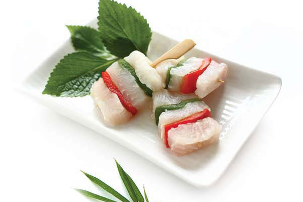 Pangasius Fillet Skewers