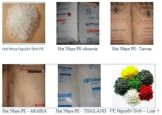 Mua Hạt nhựa PE nguyên sinh: