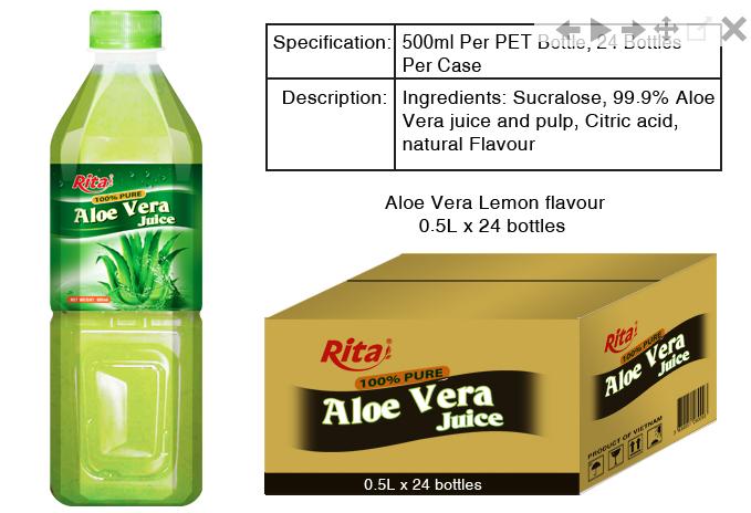 Mua Aloe Vera juice