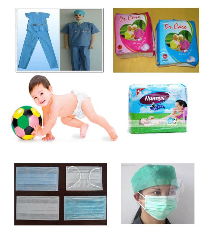 Mua Vải Không Dệt ứng dụng sản xuất trong Ngành Y tế, bảo hộ lao động