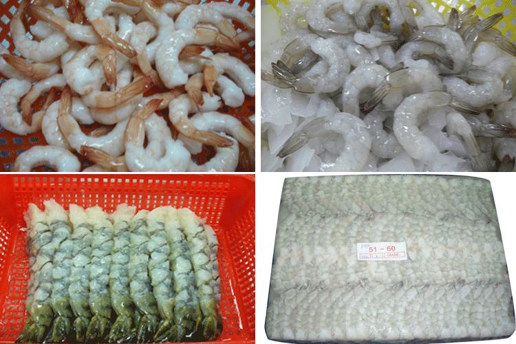 Mua Raw Frozen / Cook Frozen shrimp