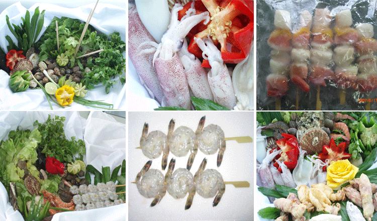 Mua Seafood mix