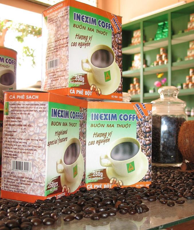 Mua Cà phê bột Inexim