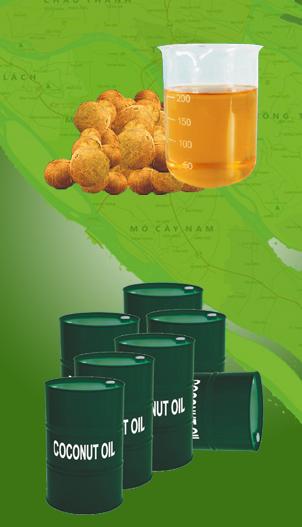 Mua Dầu dừa thô