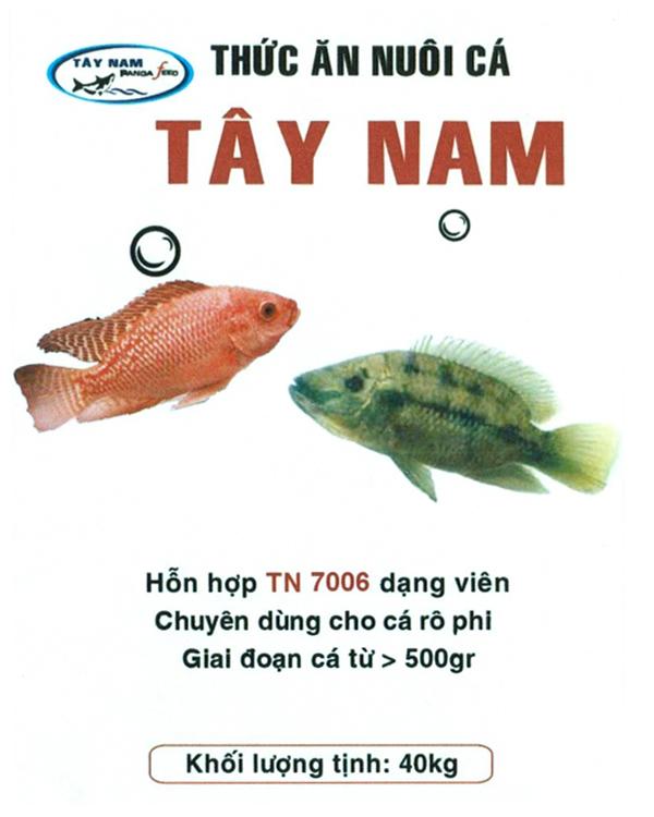 Mua TN 7006 - Thức ăn chuyên dùng cho cá rô phi Giai đoạn từ > 500gr