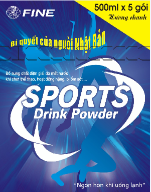 Mua FINE Sports Drink Powder