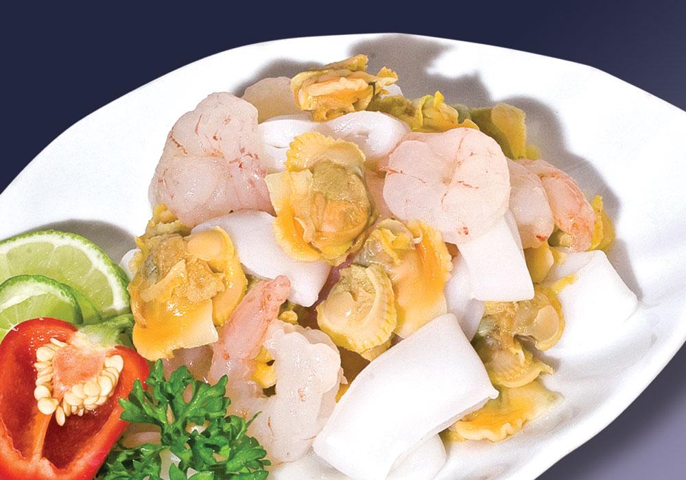 Mua Seafood mix đông lạnh