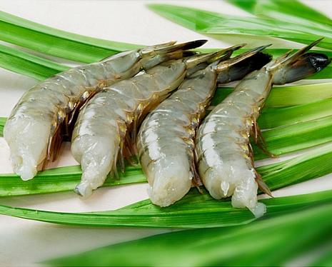 Mua Vannamei shrimps nobashi