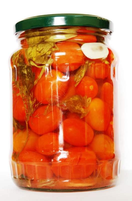 Mua Cà chua bi dầm dấm đóng lọ